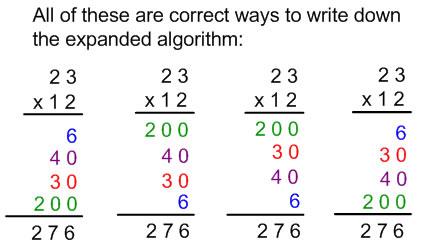 math worksheet : multiplication algorithm related keywords  suggestions  : Expanded Algorithm Multiplication Worksheets
